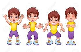 Child clipart four 7