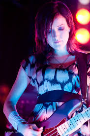 Smashing Pumpkins Bass Player by Nicole Fiorentino Of The Smashing Pumpkins Smashing Pumpki U2026 Flickr