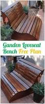 williams sonoma inspired diy outdoor bench modern gardens and