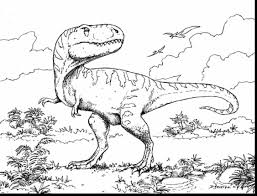 Unbelievable Printable Dinosaur Coloring Pages With Train And Christmas
