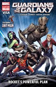 Guardians Of The Galaxy Rocket039s Powerful Plan Vol 1