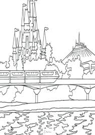 Disney World Coloring Book Pages Fun Printable