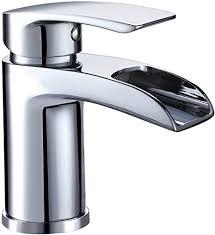 design kurzer wasserfall waschtischarmatur einhebelmischer waschtischbatterie bad armatur wasserhahn für waschbecken