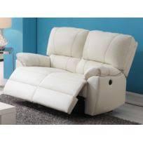 canapé 3 places relax electrique marque generique canapé 3 places relax électrique en cuir catane