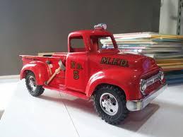 100 Tonka Truck Parts All Original Parts Paint And Cab Decals Custom 1954 MFD Fire