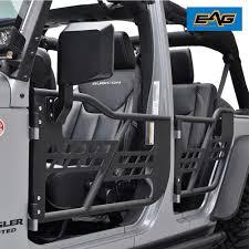 Safari Tubular Doors With Mirror 07 18 Jeep Wrangler JK Unlimited