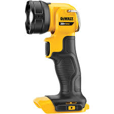 shop dewalt 20 volt max 110 lumen led rechargeable power tool