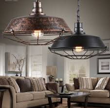 Industrial Loft Antique Lamp Edison Bulb Vintage Pendant Light Fixtures Metal Hanging Droplight For Dining Room Indoor Lighting In Lights From