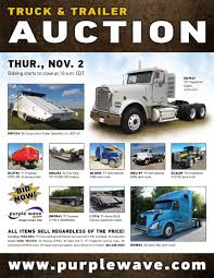 SOLD! November 2 Truck And Trailer Auction | PurpleWave, Inc. Heavy Truck Insurance Auctions Best 2018 Capacity Tj5000 Salvage For Sale Auction Or Lease Jackson Mn Jubilee 1997 Lvo Wg42t Port Jervis Fleet Vehicles Commercial Auto Specialty Salvage Auction 2011 Ford F350 67 Powerstroke No Start Youtube Intertional Lonestar 2010 Kenworth T660 Spencer 2009 2004 T600 Live City Of Regina Unreserved Ended On Vin 1fduf5gtxbec42440 Ford F550 Super In