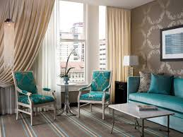 Grey And Turquoise Living Room Curtains by House Of Turquoise Living Room