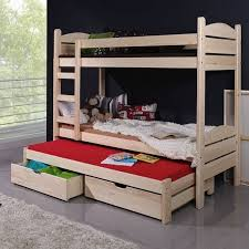 lit enfant superposé severine avec lit gigogne 3 couchages www