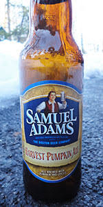 Harvest Moon Pumpkin Ale by Samuel Adams Harvest Pumpkin Ale Boston Beer Company Samuel