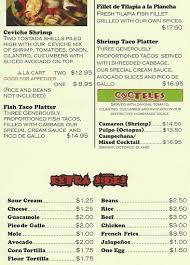 El Patio Fremont Blvd by Menu At El Patio 37311 Fremont Blvd Restaurant Prices