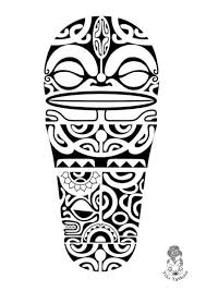 Tiki Is A Common Tattoo Design In Polynesian Culture Its Human Like Figure That Signifies Semi Gods Wearers Considered It As Symbol Of Protection