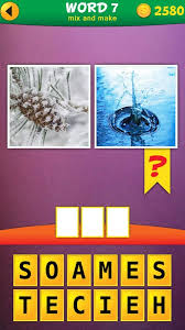 2 Pics 1 Word Mix Pics Puzzle Android Apps on Google Play