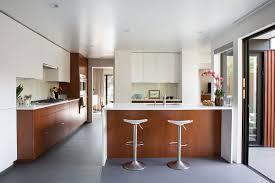 100 Eichler Kitchen Remodel White And Mahogany Palette Revitalizes 1962 Home In San