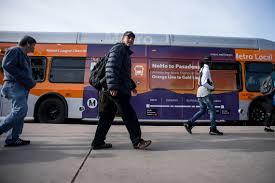 Pumpkin Patch Pasadena by Transit Leaders Make Push To Keep Noho Pasadena Express Bus On