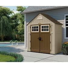 Suncast Vertical Shed Manual by Decorating Suncast Storage Shed Garbage Sheds Suncast