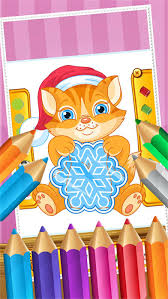 Cat Coloring Book Paint And Drawing For Kid Games On The App Store