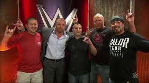 the kliq surprises the wwe fans who recorded the msg curtain call