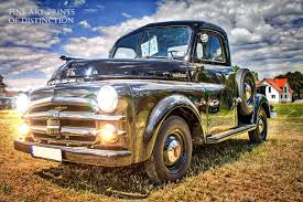100 1952 Dodge Truck Antique Pickup Art Print Brandywine General Store