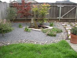 Garden Design: Garden Design With Back Yard Ideas On A Budget ... Outdoor Living Cute Rock Garden Design Idea Creative Best 20 River Landscaping Ideas On Pinterest With Lava Fleagorcom Natural Landscape On A Sloped And Wooded Backyard Backyards Small Under Front Window Yard Plans For Of 25 Rock Landscaping Ideas Diy Using Stones Interior 41 Stunning Pictures Startling Gardens