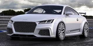 The Audi TT quattro sport concept show car Fourtitude