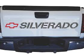 100 Chevy Truck Tailgate Parts Amazoncom Chevrolet Silverado Bed Sticker Decal