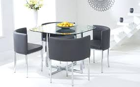 Dining Tables Glass Outstanding Table Sets Top Set 4
