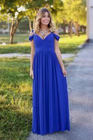 royal blue off shoulder maxi dress royal blue maxi dress long