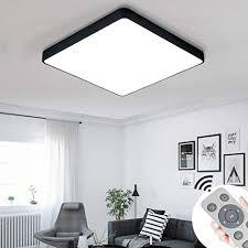 miwooho 36w dimmbar led deckenleuchten deckenle für schlafzimmer wohnzimmer flur küche energieklasse a