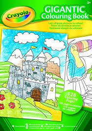 Crayola A4 Gigantic Colouring Book Amazoncouk Toys Games
