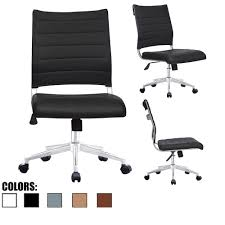 2xhome Ergonomic Executive Mid Back PU Leather Office Chair Armless Side No  Arms Tilt With Wheels Padded Seat Cushion Buy Office Chair Ea 119 Style Premium Leather Wheels China High Back Emes Swivel Chairs With Yaheetech White Desk Wheelsarmes Modern Pu Midback Adjustable Home Computer Executive On 360 Barton Ribbed W Thonet S 845 Drw Wheels Bonded 393ec3 Star Afwcom Ikea Office Chair White In Bradford West Yorkshire Gumtree 2 Adjustable Ribbed White Faux Leather Office Chairs With Wheels Eames Style Angel Ldon Against A Carpet Charming Black Genuine Arms Details About Classic Without Welsleather Wheelsexecutive