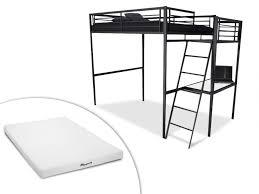 vente unique bureau lit mezzanine casual ii 2 personnes bureau option matelas
