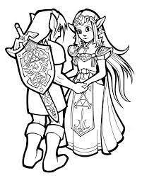 Resultats De Recherche Dimages Pour Zelda Link Coloring Pages