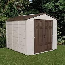 Suncast Garden Shed Taupe by Suncast 8 X 8 Ft Storage Shed Walmart Com