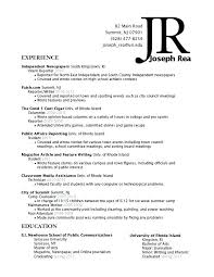 Examples Of Education On Resume Portion Assistant