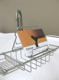 Bath Caddy With Reading Rack by Deluxe Solid Brass Bathtub Caddy Cheviot Products