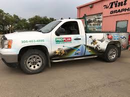 Pro Plus Vehicle Wrap - Kindersley SignsKindersley Signs
