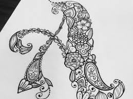 Coloring Book For Adults Illustration Prints