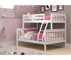 Bunk Bed Huggers by Mission Bunk Bed Twin Over Full White Wood Bunk Beds