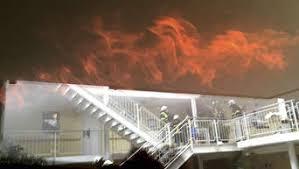 küche brennt in altenheim sechs verletzte personen