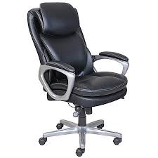 serta smart layers air arlington executive chair blackpewter by