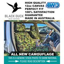 100 Camo Bench Seat Covers For Trucks Black Duck Canvas XFXGXH Falcon Ute Front Bench