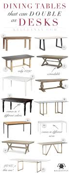 Using A Dining Room Table As Desk In Your Home Office Cost Effective And