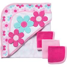 Pink Bathroom Sets Walmart by Gerber 4pc Bath Set Giraffe Walmart Com