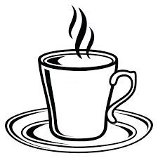 Download Black And White Coffee Tea Cup Icon Stock Vector Illustration Of Relaxation Cups Starbucks Mugs