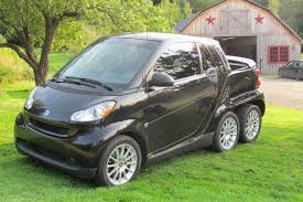 100 Mercedes 6 Wheel Truck Someone Built A Ed Smart Fortwo And Its Awesome