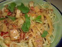 Olive Garden Chicken And Shrimp Carbonara Recipe Genius Kitchen