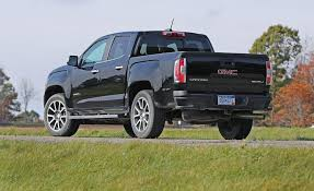 2017 GMC Canyon | Review | Car And Driver Two Guys Hibachi Express Home Facebook U Haul Truck Review Video Moving Rental How To 14 Box Van Ford Pod Movers In Dmissouri Mo Two Men And A Truck Men And A Cost Guide Ma 2018 Motus Mst Mstr First Ride Review Revzilla And Rates Best Virginia Beach Va Intertional Competitors Revenue Employees Your Favorite Jacksonville Food Trucks Finder Women Say Theyre Most Attracted Driving Pickups 2017 Gmc Canyon Car Driver